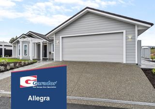 Allegra™ - Horizontal Rib Sectional Door