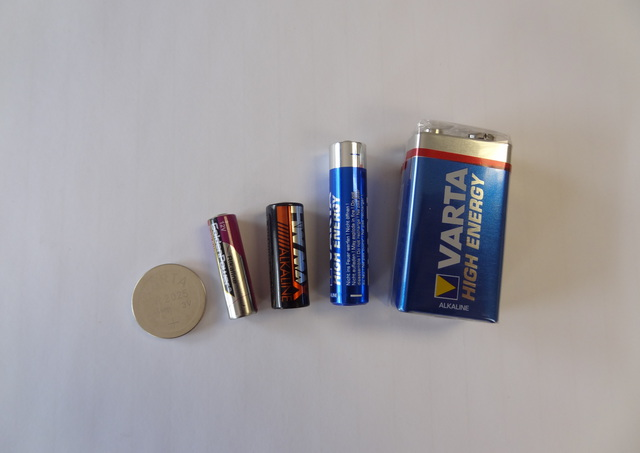 Batteries for Remote Controls