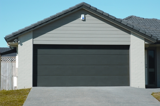 Aspen Flat Panel Sectional Door Waikato Door